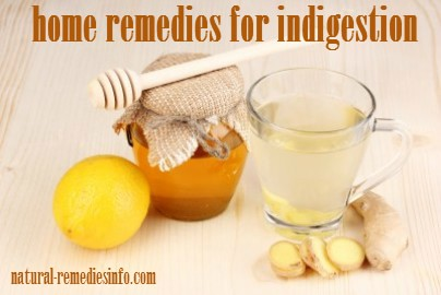 Simple indigestion home remedies