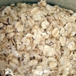 Oatmeal as natural remedy for heat rash