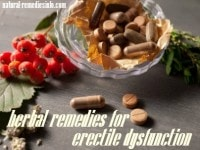 herbal remedies for ED