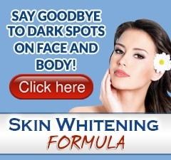 Dark underarms whitening formula
