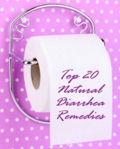 top 20 diarrhea remedies tissue