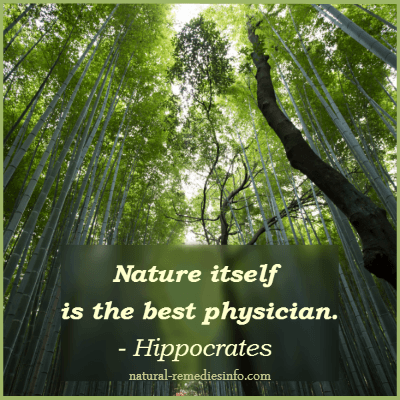 Nature is the best physician